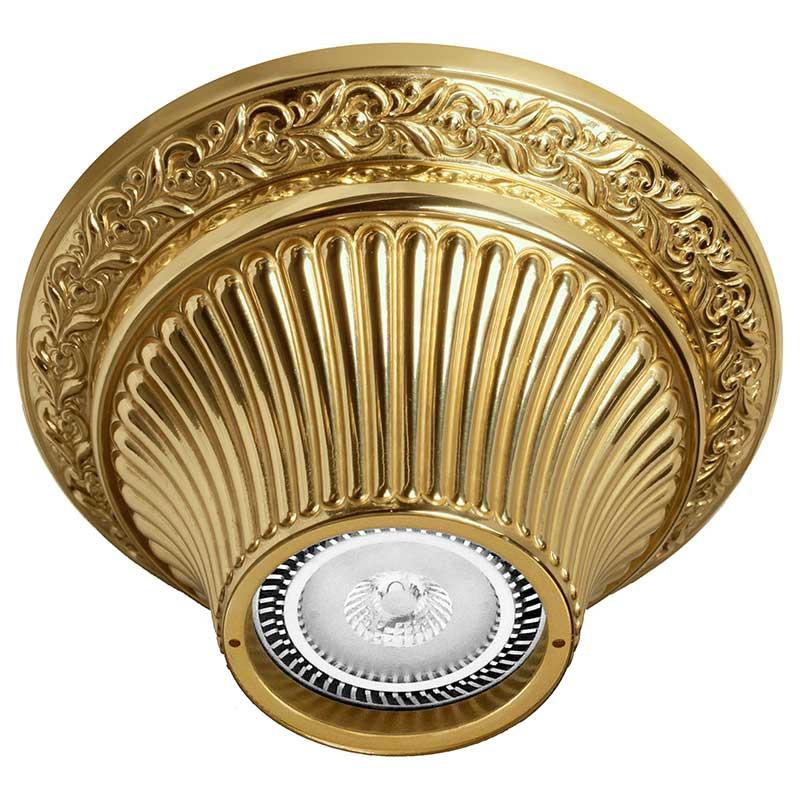 Фото Fede FD1012SOB Накладной точечный светильник из латуни, блестящее золото. Купить с доставкой