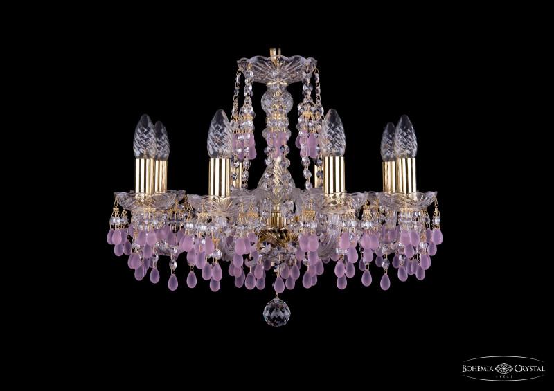Bohemia Ivele Crystal 1410/8/160/G/V7010 люстра подвесная bohemia ivele 1410 1410 8 160 g v7010