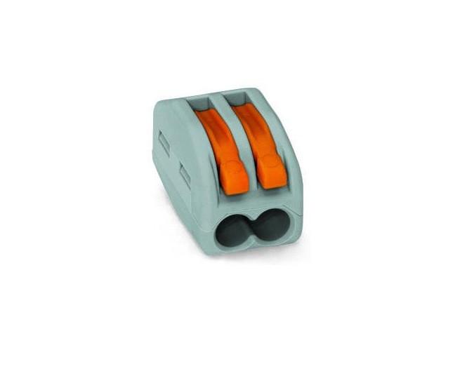 WAGO Клемма 2x0.08-2.5мм (222-412) bnc м клемма каркам