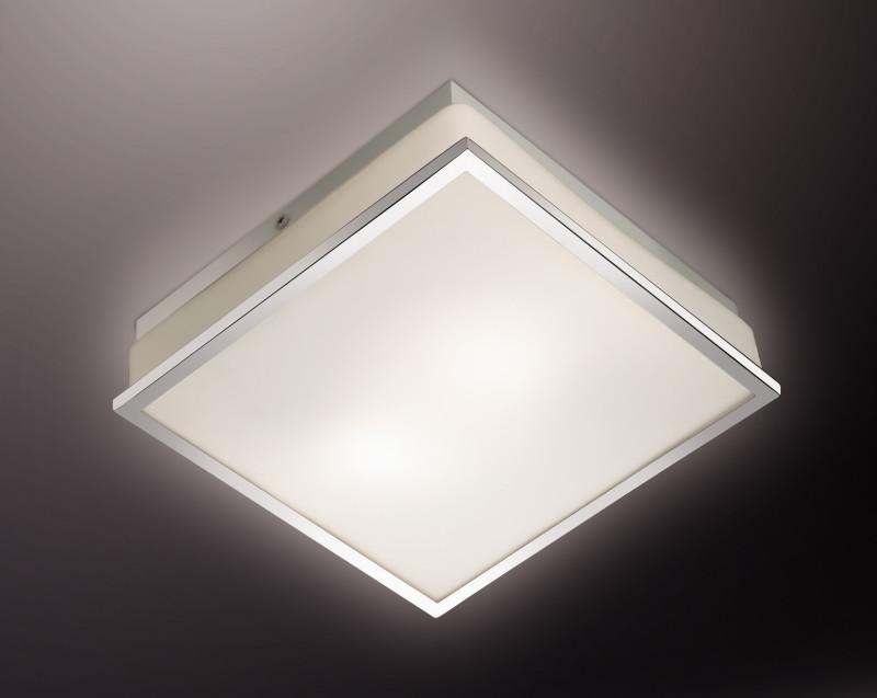 все цены на Odeon Light 2537/2C ODL13 882 хром/стекло Н/п светильник IP44 E27 2*40W 220V TELA