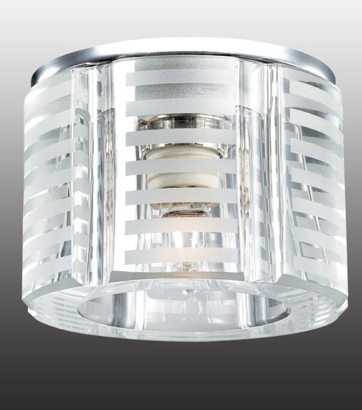 Novotech 369809 NT12 199 хром Встраиваемый светильник IP20 G9 40W 220V NORD novotech встраиваемый светильник nord 369803