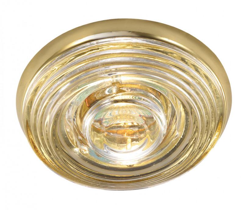 Novotech 369814 NT12 287 золото Встраиваемый светильник IP65 GU5.3 50W 12V AQUA dt 287