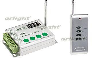 Arlight Контроллер CS-TH2010-RF4B 18xIC (12-24V, ПДУ 4кн)
