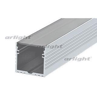 Arlight Профиль с экраном 2 метра ALU-POWER-W35S-2000 ANOD+FROST arlight профиль с экраном 2 метра alu stair d 2000 anod frost