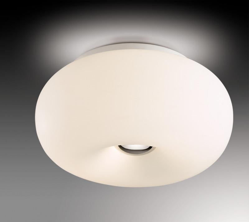 Odeon Light 2205/2C ODL12 405 хром Потолочный светильник  E27 2*60W 220V PATI