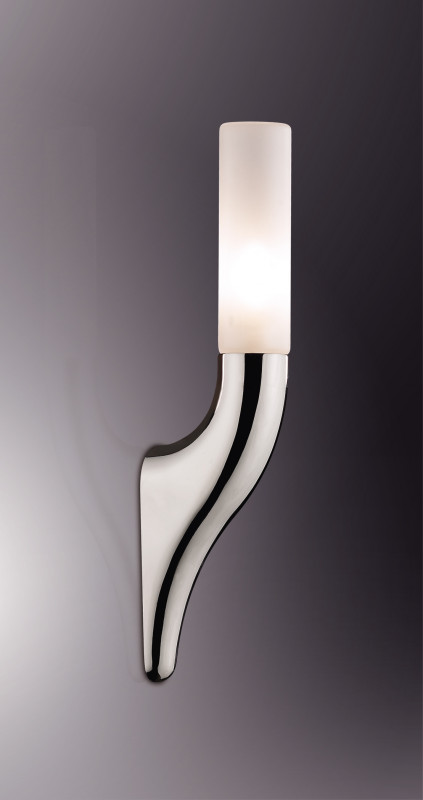 Odeon Light 2196/1W ODL12 857 хром Настенный светильник G9 40W 220V VEKA светильник настенный odeon light 2209 3w odl12 719 g9 3 40w 220v bisco хром хрустальный декор