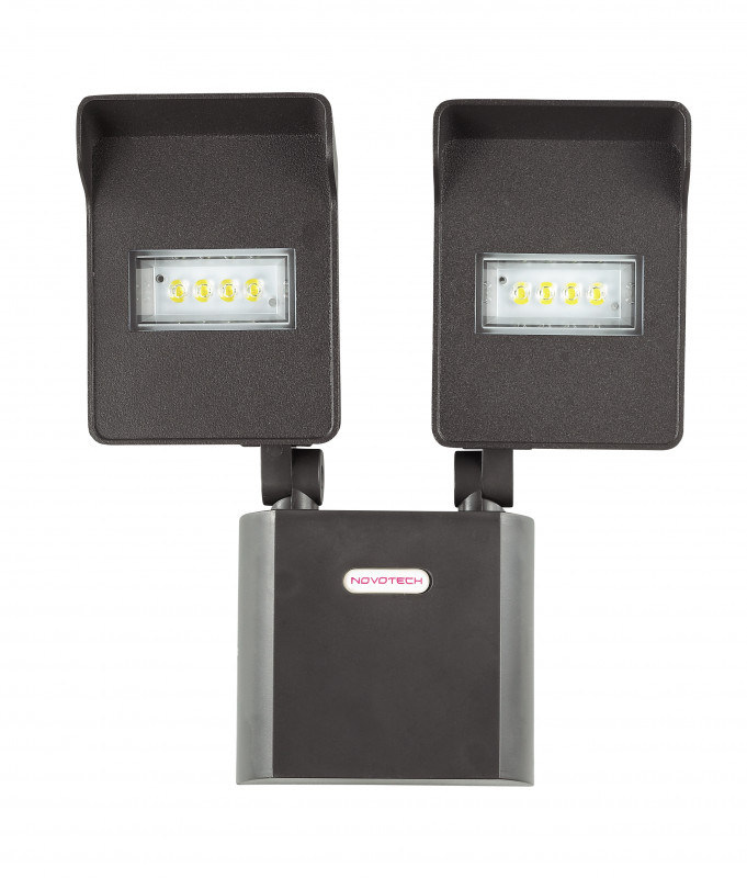 Novotech 357218 NT15 053 чёрный Настенный светильник IP54 8LED 2*10W 220V TITAN