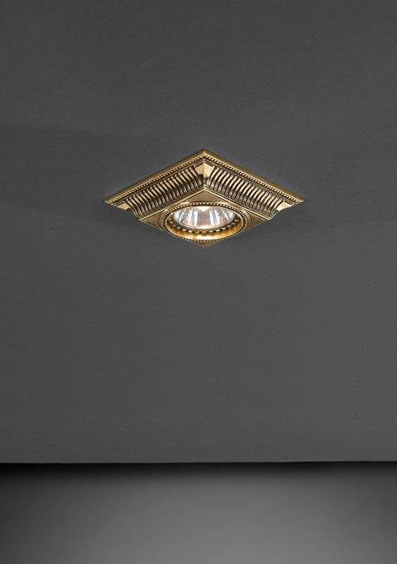 Reccagni Angelo SPOT 1084 ORO встраиваемый точечный светильник спот spot 1082 oro золото reccagni angelo рекани анжело