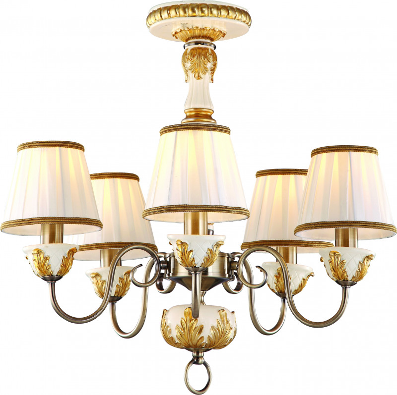 ARTE Lamp A9570PL-5WG люстра на штанге arte lamp benessere a9570pl 5wg