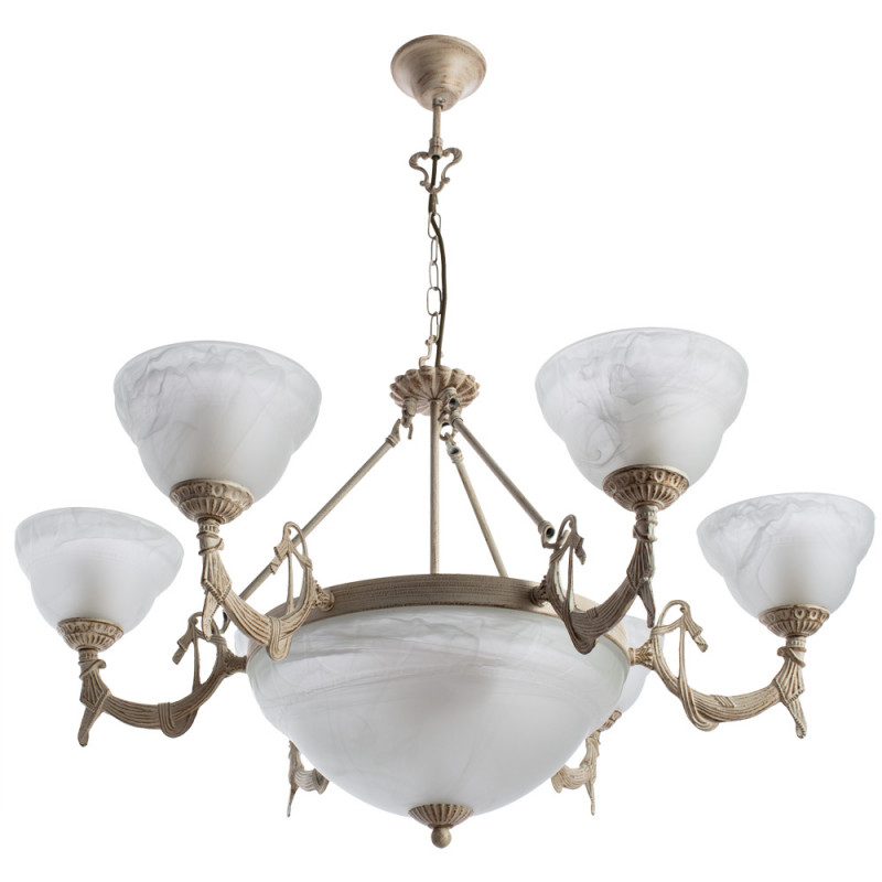 ARTE Lamp A8777LM-6-3WG люстра подвесная arte lamp atlas neo a8777lm 6 3wg