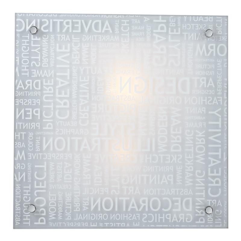 Sonex 2257 SN15 078 хром/белый Н/п светильник E27 2*60W 220V GRAFIKA 2257