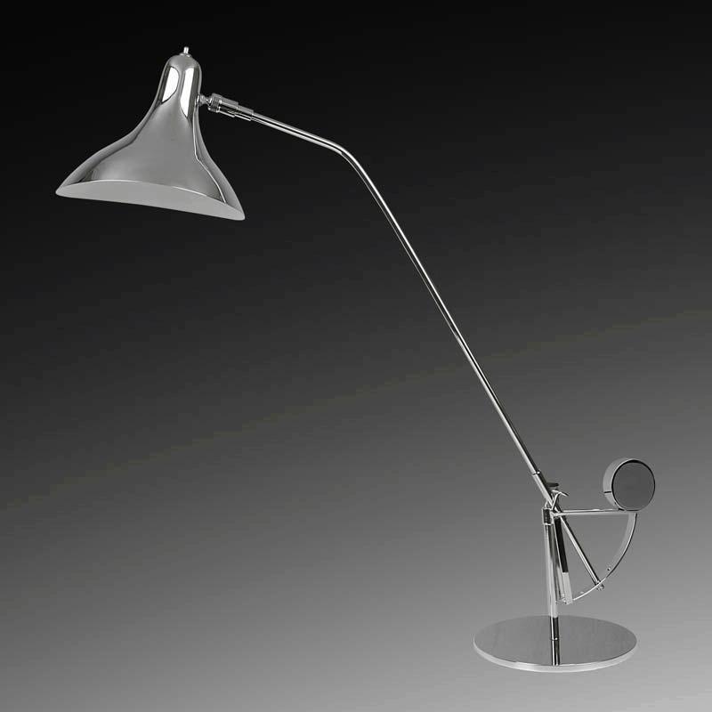 Lightstar 764904*** (MТ14003041-1А) Настольная лампа MANTI 1х40W E14 Chrome, шт lightstar 764604 mв14003041 1а бра manti 1х40w e14 chrome шт