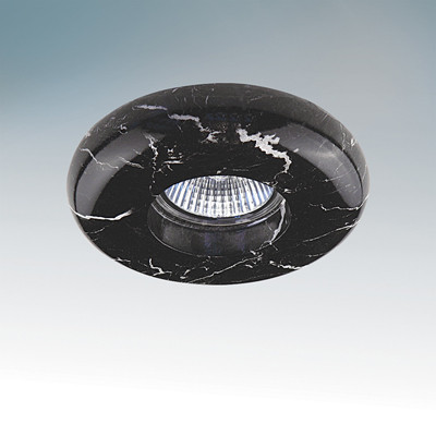 Lightstar 002747*** Светильник MARMARA NERO MR16/HP16 ЧЕРНЫЙ МРАМОР, шт durable 231203