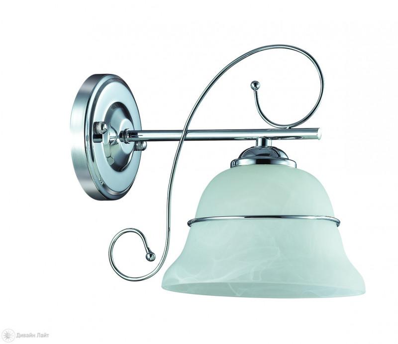 LUMION 3021/1W LN16 000 хром/стекло/метал.декор/хрусталь Бра