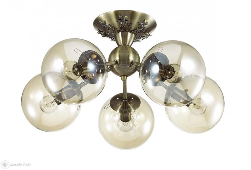 LUMION 3059/5C LN16 000 бронзовый/стекло Люстра потолочная E14 5*40W 220V PALLA джон дэвисон рокфеллер как я нажил 500 000 000 мемуары миллиардера