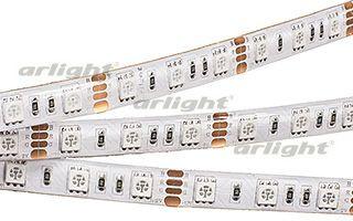 Фото Arlight Лента RTW 2-5000SE 12V RGB 2X (5060, 300 LED, LUX). Купить с доставкой
