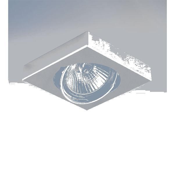 Фото Lightstar 006244 Светильник MATTONI QUAD MR16/HP16  ХРОМ, шт. Купить с доставкой