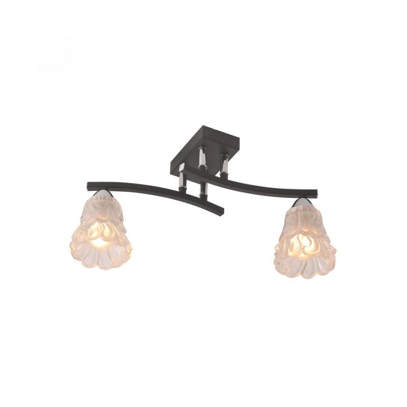 IDLamp 217/2PF-Blackchrome светильник потолочный idlamp 217 2pf blackchrome