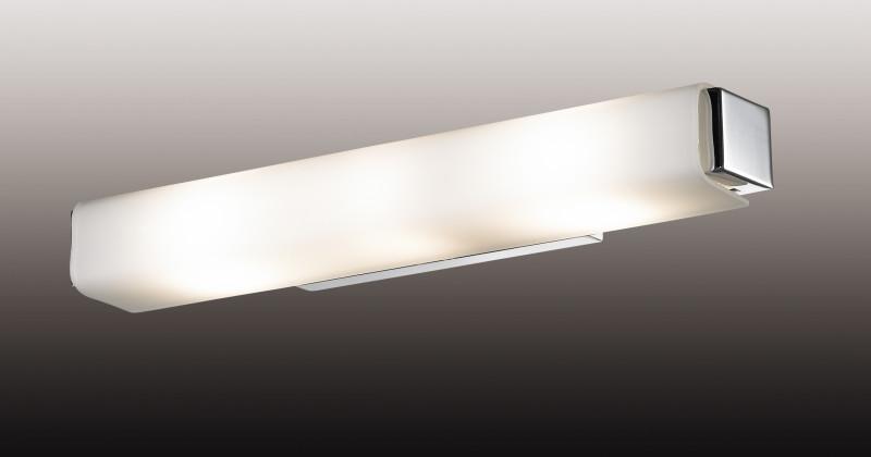 Odeon Light 2731/3W ODL15 822 хром/стекло Настенный светильник с выкл E14 3*40W 220V KIMA