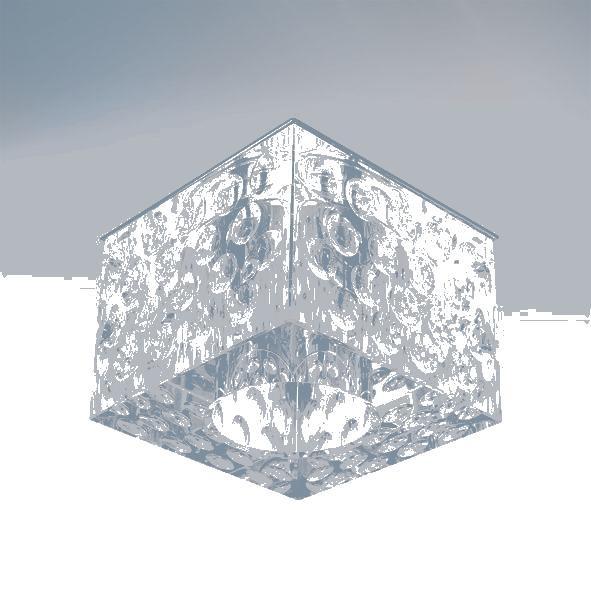 Lightstar 004160*** Светильник BOLLA QUBE CR G5.3 ХРОМ/ПРОЗРАЧНЫЙ, шт биотуалет thetford porta potti qube 165