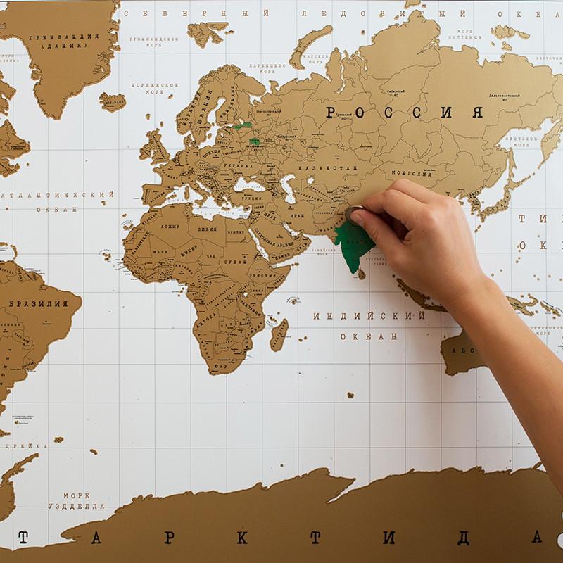BadLab Карта мира true map