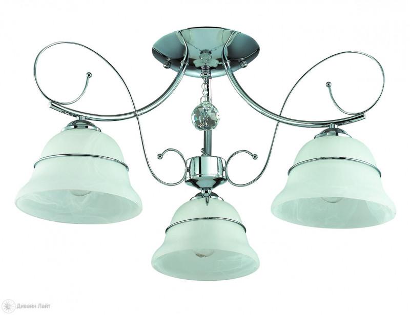 LUMION 3021/3C LN16 000 хром/стекло/метал.декор/хрусталь