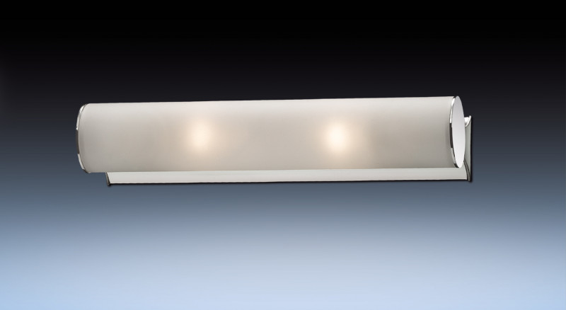 Odeon Light 2028/2W ODL11 829 хром Настенный светильник  E14 2*40W 220V TUBE светильник настенный odeon light 2743 2w odl15 787 e14 2 40w 220v lemo хром стекло