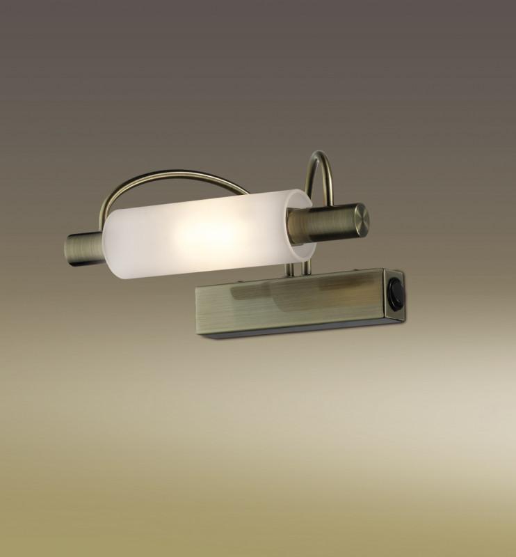 Odeon Light 2035/1W ODL11 845 бронза Настенный светильник  R7s 100W 220V WIRON odeon light бра wiron 2035 3w