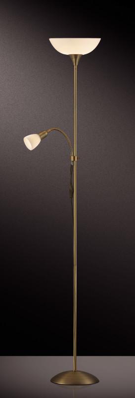 Odeon Light 2712/F ODL11 891 матовое золото Торшер  E14/E27 40W/100W 220V TREND фея 891