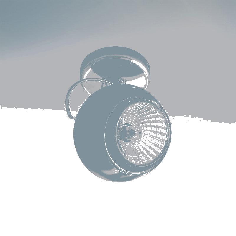 Lightstar 110574 Светильник OCCHIO FABI NERO HP16 ХРОМ/ЧЕРНЫЙ МАТОВЫЙ, шт цена и фото