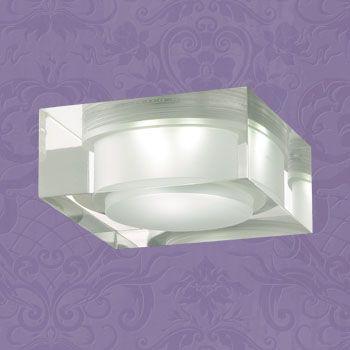Novotech 357047 NT11 364 хром/белый Встраиваемый НП светильник IP20 1LED 1W 220V EASE