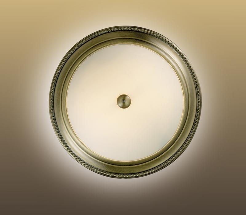 Sonex 2231/S FBK11 026 белый/бронзовый Н/п светильник E27 2*60W 220V BRIS бра sonex 026