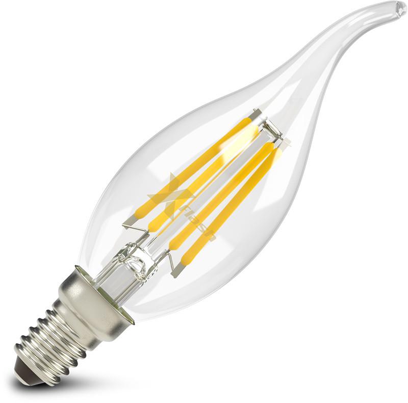 X-Flash Светодиодная лампа X-flash XF-E14-FL-В35T-4W-2700K-230V (арт.47628) карта памяти набор переходников espada microsd minisd на compact flash e sdcsca comp fl