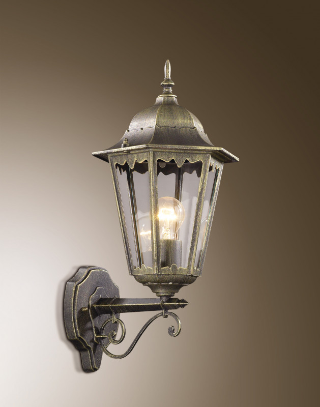 Odeon Light 2319/1W ODL12 937 бронза Уличный настен светильник IP44 E27 60W 220V LANO
