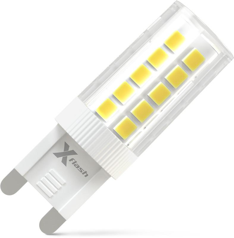 X-Flash Светодиодная лампа X-flash XF-G9-44-C-3W-4000K-230V (арт.47727) светодиодная лампа x flash xf e14 cc 3 3w 4000k 230v арт 47864