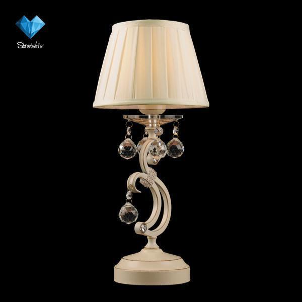 Eurosvet Настольная лампа 12075/1T белый