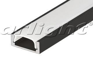 Arlight Алюминиевый Профиль 2 метра MIC-2000 ANOD Black RAL9005