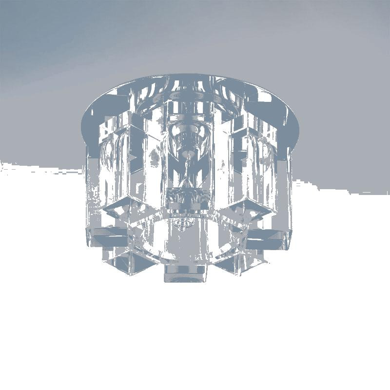 Lightstar 004550 Светильник PILONE CYL CR G9 ХРОМ/ПРОЗРАЧНЫЙ, шт lightstar 004514 g9 светильник bomo cr g9 хром прозрачный шт