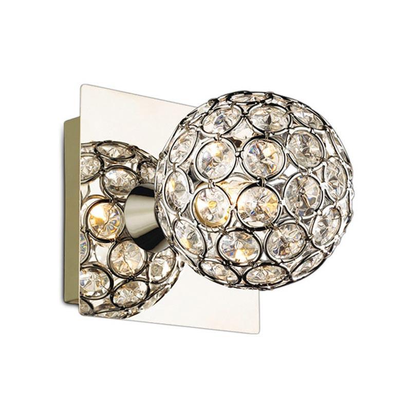 Odeon Light 2472/1W ODL13 765 хром/хрусталь Подсветка с выкл G9 40W 220V AKETI 030 129 765 g