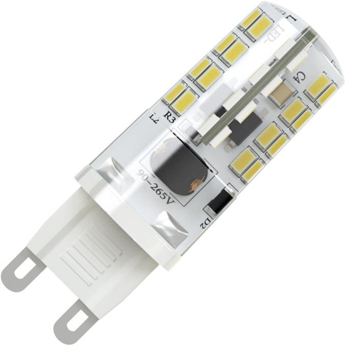 X-Flash Светодиодная лампа XF-G9-64-S-3W-3000K-220V X-flash лампа светодиодная g9 3w 3300k колба матовая 4690389085642