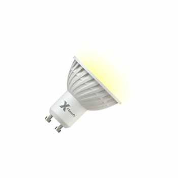 X-Flash Светодиодная лампа XF-MR16-P-GU10-5W-3000K-220V X-flash лампочка x flash spotlight mr16 xf spl l gu5 3 6w 3000k 12v желтый свет линза 43507
