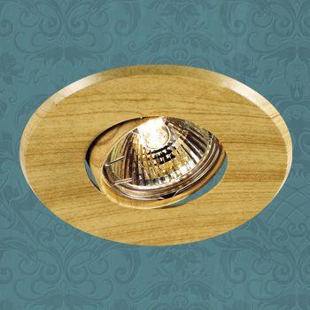 Novotech 369709 NT12 271 светлое дерево Встраиваемый ПВ светильник IP20 GU5.3 50W 12V WOOD aqwella papyrus wood светлое дерево