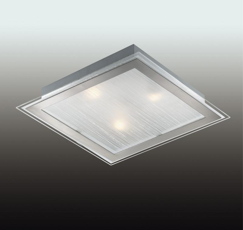 все цены на Odeon Light 2737/3W ODL15 811 никель/стекло Н/п светильник E27 3*60W 220V ULEN