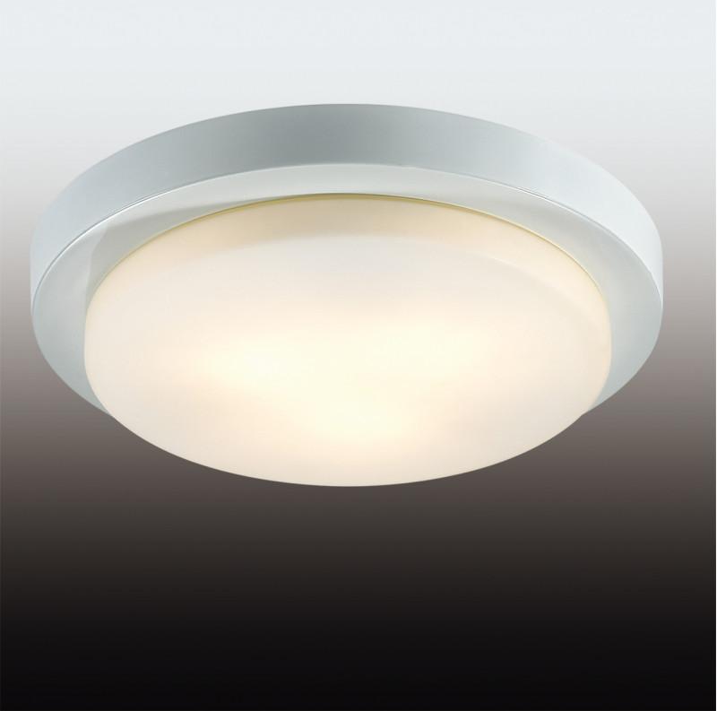 Odeon Light 2745/3C ODL15 867 белый/стекло Н/п светильник IP44 E14 3*40W 220V HOLGER светильник потолочный odeon light holger 3 х e14 40w 2745 3c