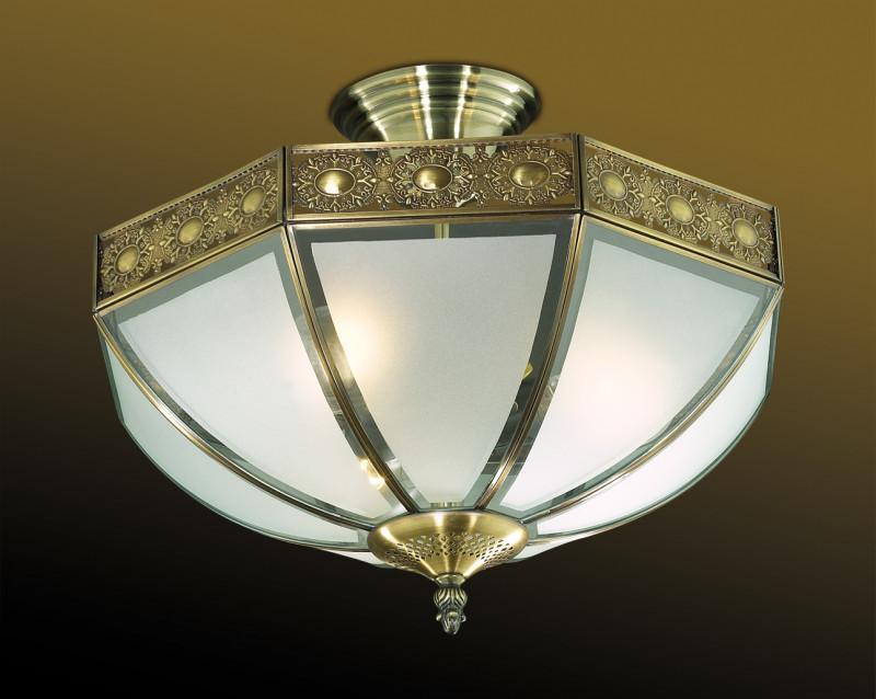 все цены на Odeon Light 2344/3B ODL12 355 бронза Люстра  E27 3*60W 220V VALSO онлайн