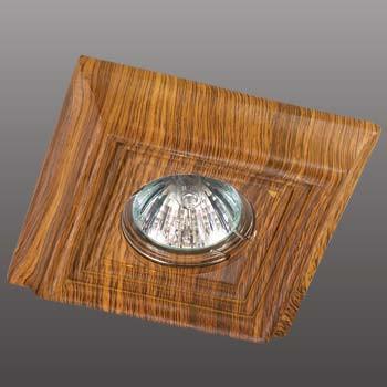 Фото Novotech 370090 NT15 144 светлое дерево Встраиваемый светильник IP20 GU5.3 50W 12V PATTERN. Купить с доставкой