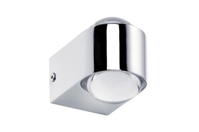 Paulmann WallCeiling Capella WL IP44 LED 2x4W Chr paulmann 70063 лампа накаливания rustuka retro 60 w e27 прозрачн paulmann