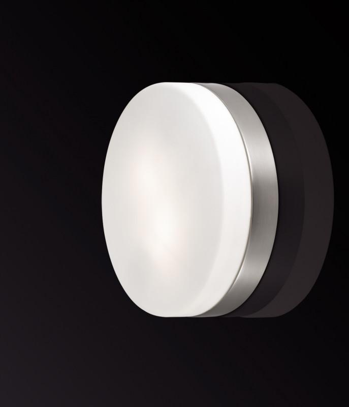 все цены на Odeon Light 2405/2C ODL13 877 никель Н/п светильник IP44 E14 2*40W 220V PRESTO