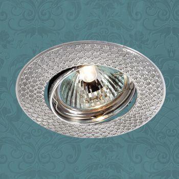 Novotech 369625 NT12 280 хром Встраиваемый ПВ светильник IP20 GU5.3 50W 12V DINO