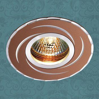 Novotech 369770 NT12 267 &кофе& Встраиваемый светильник IP20 GU5.3 50W 12V VOODOO